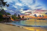 Ristorante su una spiaggia di Praslin