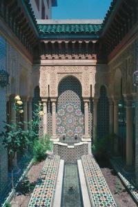 Architettura della medina di Fès.