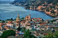 Veduta di Vietri sul Mare - Inizi della Costiera Amalfitana